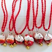 Maneki Neko - japanische Glückskätzchen aus Porzellan