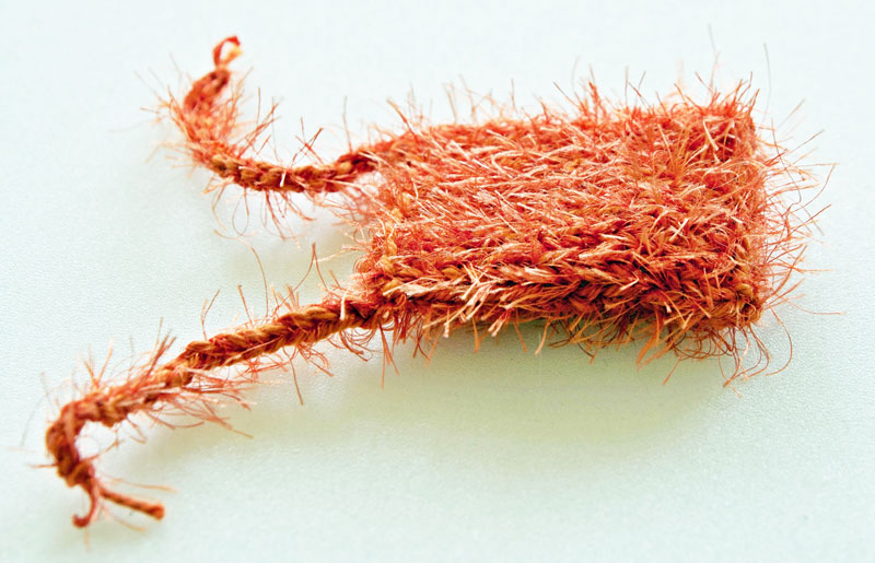 Smellie-Kissen koralle safran
