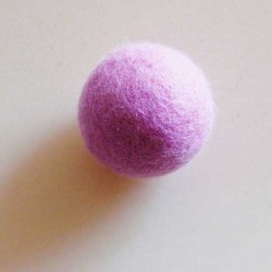 Rasselball bonbonrosa
