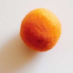 Rasselball orange