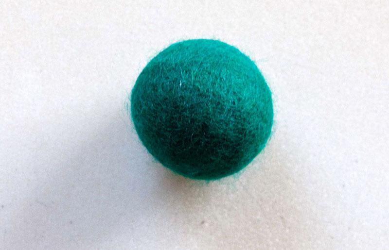 Rasselball grün sunshine